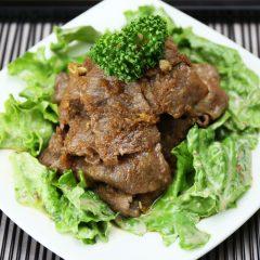 牛肉のしょうが焼 2,500円(税抜)